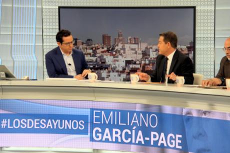 """García-Page: """"No creo que haya un acuerdo sobre financiación autonómica que no considere una igualación de servicios públicos"""""""