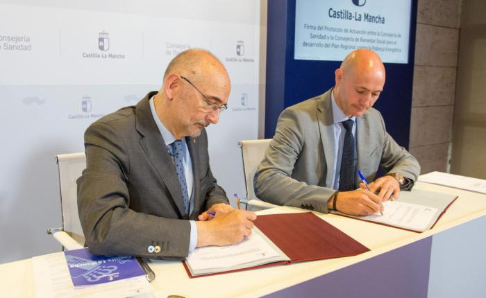 Las consejerías de Sanidad y Bienestar Social renuevan el protocolo de colaboración para el desarrollo del Plan Regional contra la pobreza energética