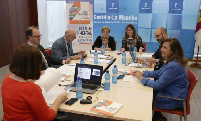 El Consejo de Dirección de la Red de Expertos aprueba el Plan de Acción 2018 del Plan de Salud Mental de Castilla-La Mancha