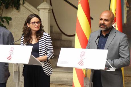 José García Molina y Mónica Oltra hablan de políticas autonómicas comunes y los retos del nuevo escenario político