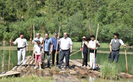 Declarado Bien de Interés Cultural el oficio de ganchero y el transporte fluvial de la madera en Castilla-La Mancha