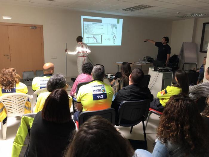 Profesionales vinculados a la atención de emergencias actualizan conocimientos para la asistencia a víctimas de descargas eléctricas