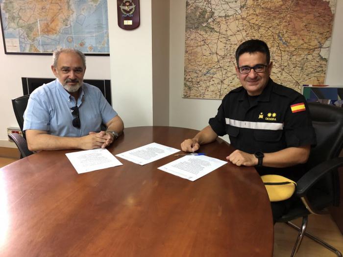 El SESCAM y la Unidad Militar de Emergencias firman un acuerdo de colaboración para el intercambio de formación de sus profesionales