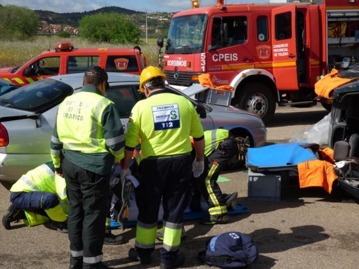 El sector sanitario lidera el número de intervenciones gestionadas por el Servicio de Emergencias 1-1-2 de Castilla-La Mancha