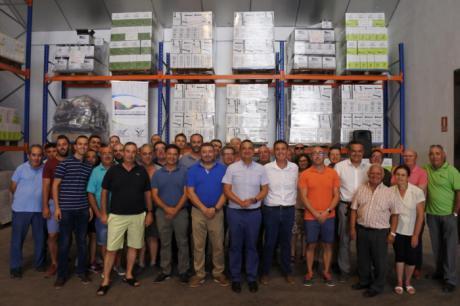 El Gobierno de Castilla-La Mancha reitera su compromiso con las empresas cooperativas mediante la integración comercial y la promoción