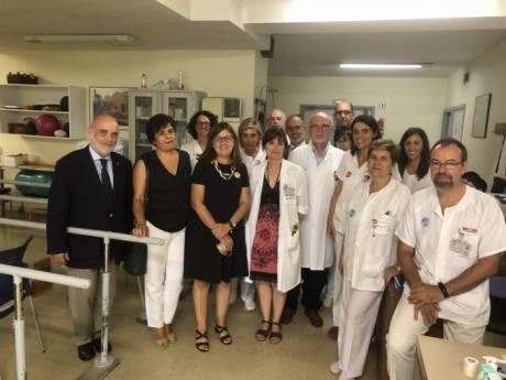 Se dara al Servicio de Rehabilitación del Virgen de la Luz de nuevo equipamiento que evita el desplazamiento de pacientes a otros centros sanitarios
