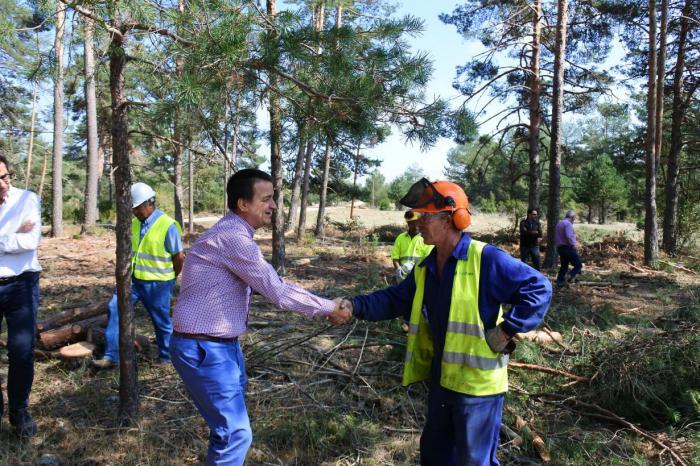 Se invierte medio millón de euros en las obras de emergencia en caminos de la provincia tras las nevadas de la primavera
