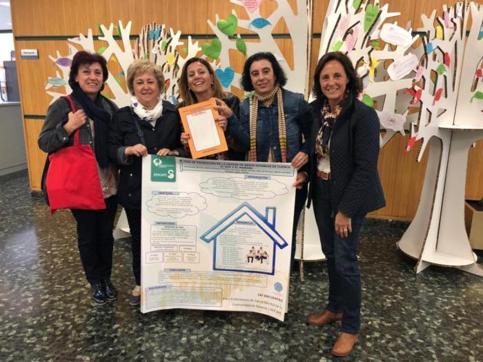 Las enfermeras de la Unidad de Media Estancia de Cuenca, premiadas en 14º Encuentro de la Asociación de Enfermería de Salud Mental