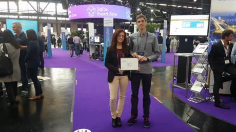 Dos jóvenes investigadores de la UCLM logran el primer premio del concurso 'Sigfox University Challenge', gracias al proyecto financiado por el Gobierno regional