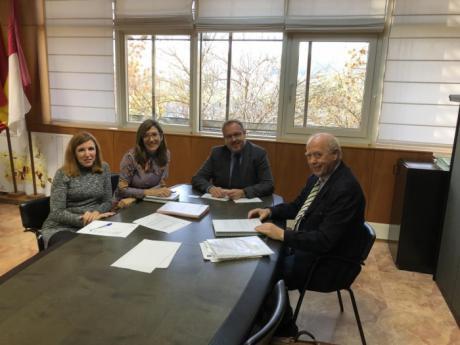 La Junta mantiene una reunión de trabajo con el Colegio Profesional de Ingenieros Técnicos Industriales de Castilla-La Mancha