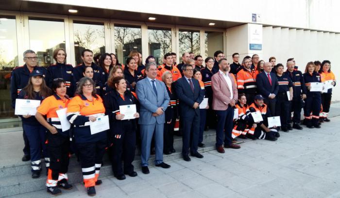 La Junta formará este año a cerca de 2.000 voluntarios de Protección Civil en un total de 68 cursos