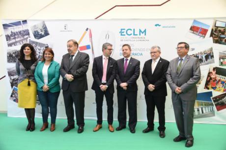 García-Page anuncia 20 nuevos centros educativos, 100 ampliaciones y 500 obras de reforma en la próxima legislatura