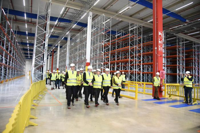El centro logístico de Amazon en Illescas estará en marcha el 15 de abril