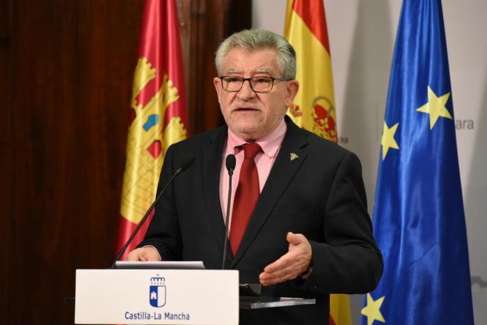 Ángel Felpeto, consejero de Educación, Cultura y Deportes