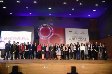 El Gobierno de Castilla-La Mancha premia a las mujeres de la ONCE por su compromiso con la discapacidad