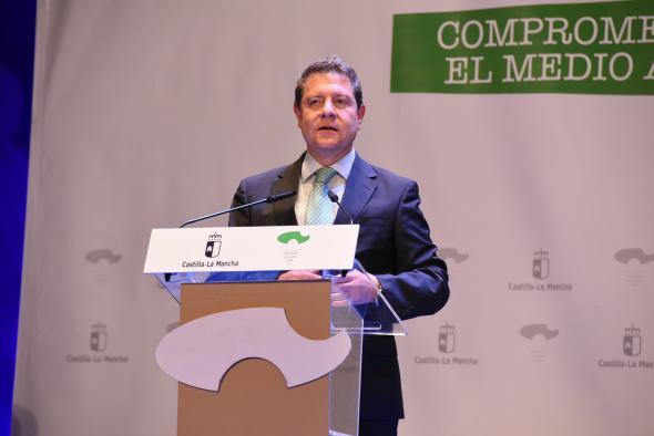 """García-Page exige """"coherencia"""" y """"coraje"""" al Gobierno de España para acabar con el trasvase Tajo-Segura"""