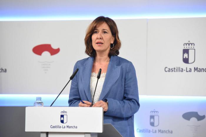 La consejera de Igualdad y Portavoz del Gobierno regional, Blanca Fernández