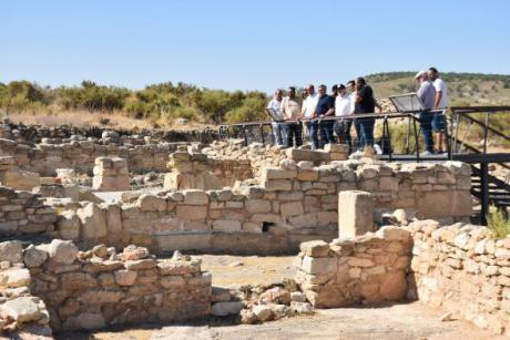 El parque arqueológico Tolmo de Minateda ha recibido cerca de 5.000 visitas desde su apertura al público