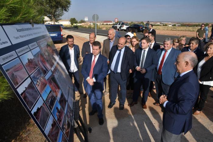 La Junta avanza en el Plan de la Red regional de carreteras al que se le introduce la variable de la lucha contra despoblación