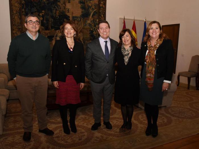 El presidente García-Page ha mantenido una reunión con CERMI-CLM