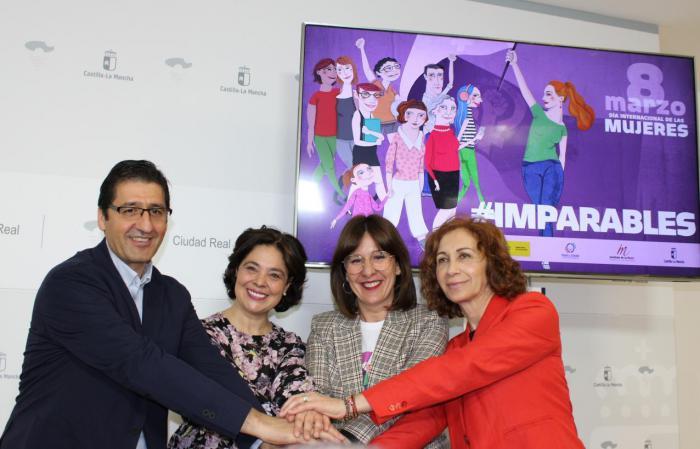 Castilla-La Mancha celebrará el Día Internacional de las Mujeres bajo el lema 'Imparables'