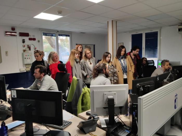 Un total de 249 personas visitaron el Centro de Emergencias 1-1-2 de Castilla-La Mancha durante el pasado año