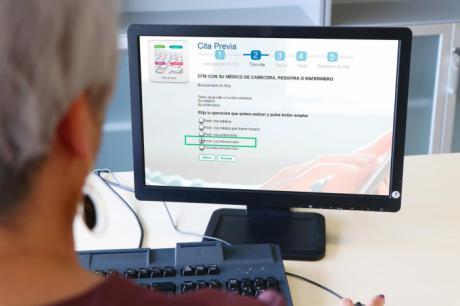 Se incorpora la consulta telefónica con los profesionales Atención Primaria
