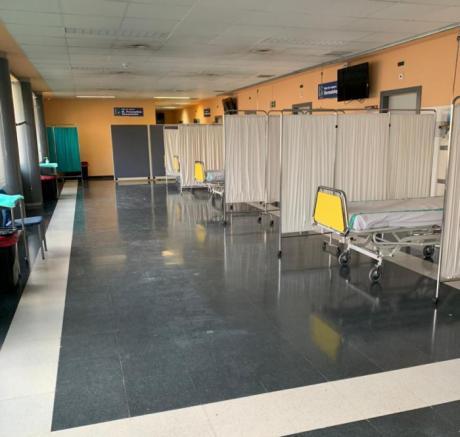 La región cuenta este jueves con 700 camas disponibles en sus hospitales