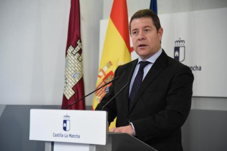 Comparecencia del presidente de Castilla-La Mancha, Emiliano García-Page