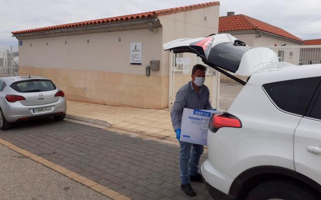 Los conductores del parque móvil de la Junta han contribuido en la lucha contra el coronavirus con más de 1.100 traslados de personal y material
