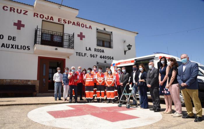 La Junta reconoce la labor de Cruz Roja durante la crisis de la COVID-19
