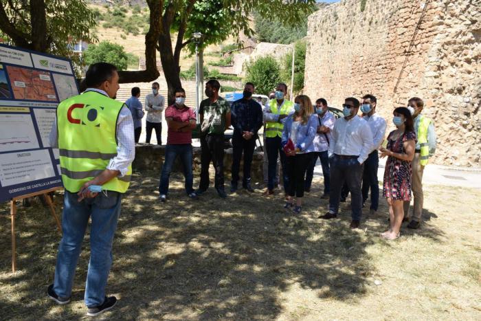 Comienzan las obras de mejora de la CM-2106 entre Cañete y Huerta del Marquesado