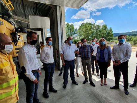 Se invierten dos millones de euros en el plan de mejoras de infraestructuras de lucha contra incendios forestales desde el inicio de legislatura
