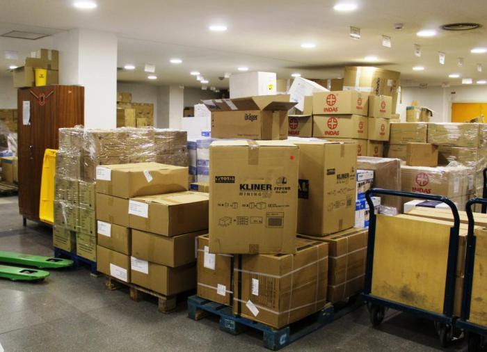 Sanidad ha realizado otro envío de más de medio millón de artículos de protección a los centros sanitarios
