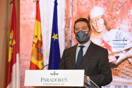 """García-Page convoca una """"mesa de proyectos"""" para captar fondos europeos que se destinen """"en buena medida al sector turístico"""""""