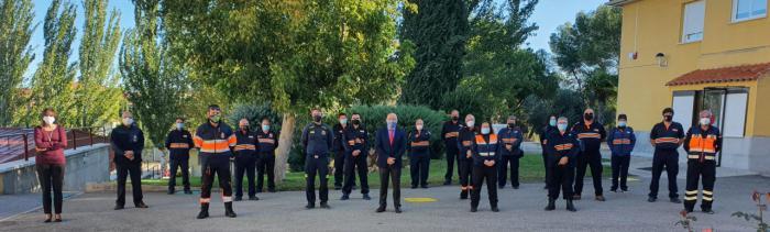 La Escuela de Protección Ciudadana acoge el XVIII Encuentro de jefes de agrupaciones de voluntarios de Protección Civil de Castilla-La Mancha