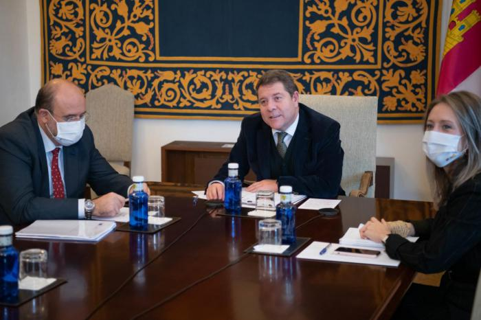García-Page defiende ante la Comisión Europea un marco común de ayudas a la compensación de la actividad económica en áreas despobladas para Cuenca y Guadalajara