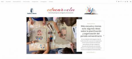 Se relanza la revista digital 'EducarenCLM' para acercar el trabajo de la comunidad educativa a toda la ciudadanía