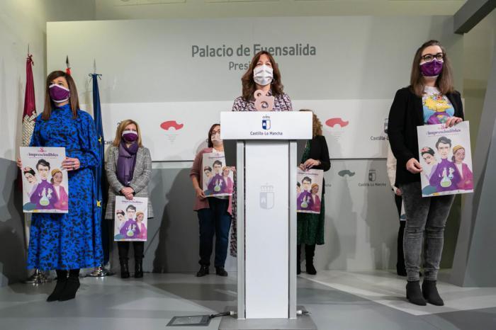 """Castilla-La Mancha reconocerá el trabajo de seis mujeres """"auténticos referentes"""" por su labor diaria y su trayectoria vital"""