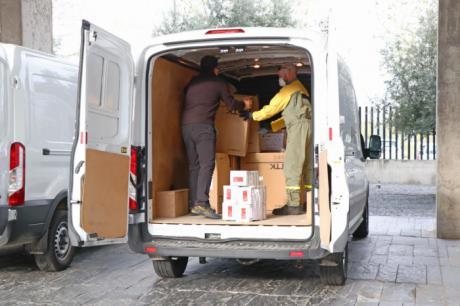 Sanidad ha distribuido esta semana cerca de 670.000 artículos de protección para profesionales sanitarios