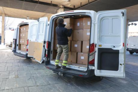Sanidad ha enviado esta semana cerca de 700.000 artículos de protección para profesionales sanitarios