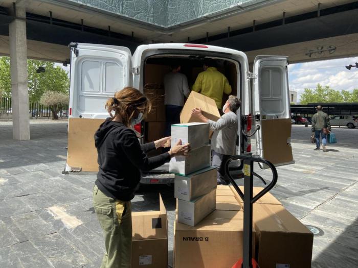 Sanidad ha enviado esta semana más de 230.000 artículos de protección a los centros sanitarios