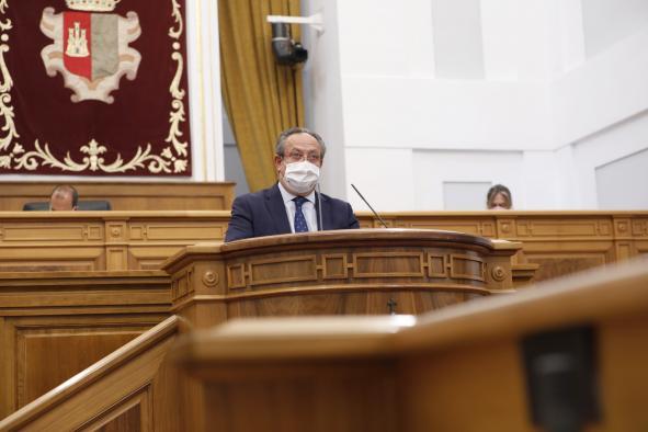 """Castilla-La Mancha defiende un sistema tributario """"justo"""", en función de la capacidad económica de cada contribuyente"""