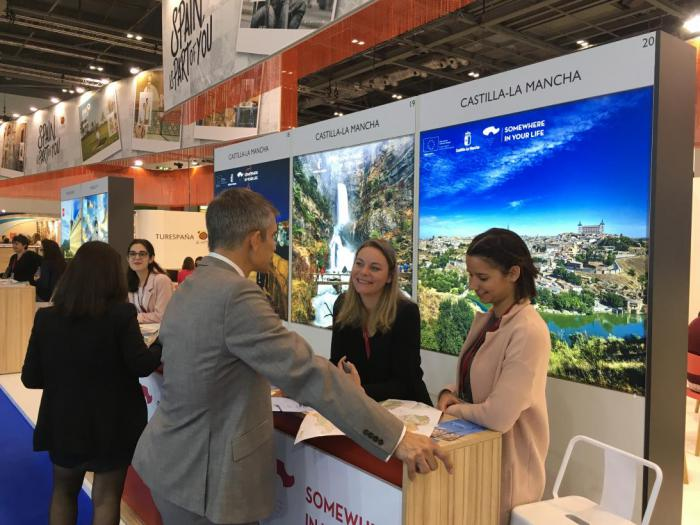 Castilla-La Mancha apoya la presencia de empresas turísticas de la región en la feria World Travel Market de Londres