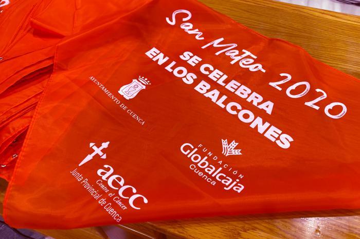 """La AECC en Cuenca presenta la campaña """"San Mateo en los balcones"""""""