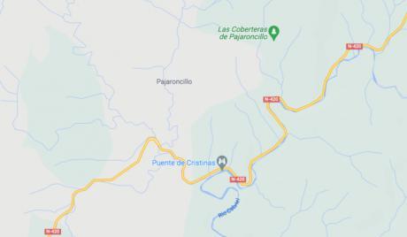Muere un motorista de 70 años en un accidente en Pajaroncillo