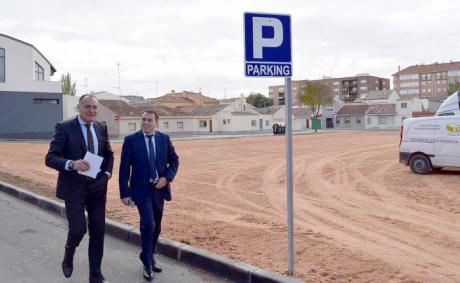 El Ayuntamiento de Tarancón habilita un aparcamiento público en la barriada de ´El Congo´