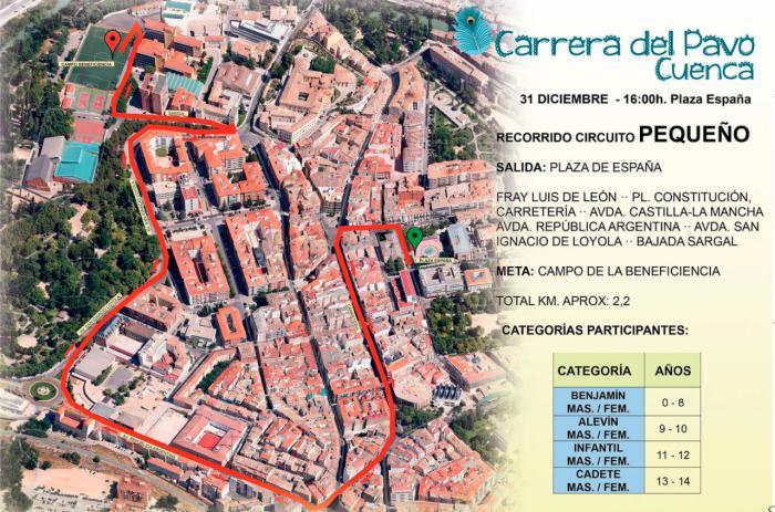 La Carrera del Pavo implica cortes y restricciones de tráfico este martes 31 de diciembre