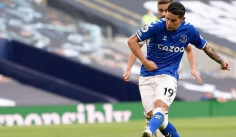 James Rodríguez en Everton; Cuales fueron las reacciones