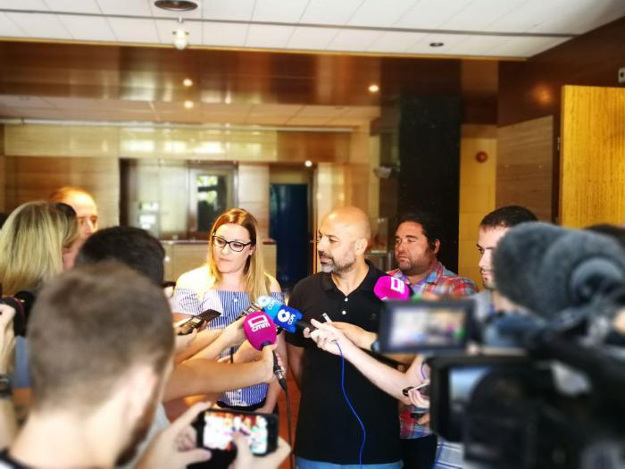 José García Molina presenta a María Díaz como la nueva Diputada por Toledo del Grupo Parlamentario Podemos.